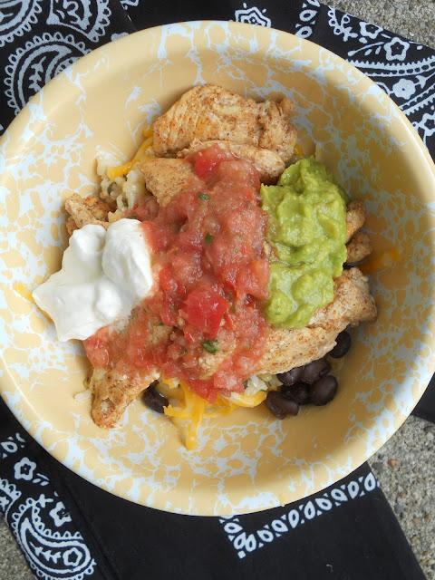 burrito bowls with cilantro lime rice (sweetandsavoryfood.com)
