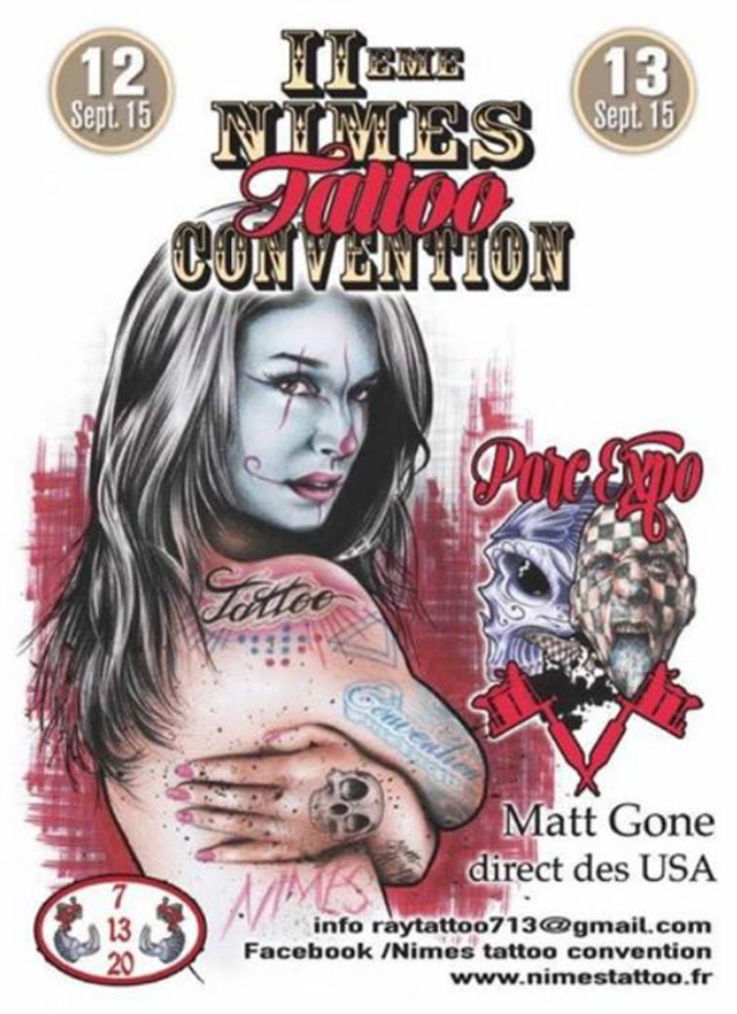 convention tatouage nimes - Nimes tattoo convention Facebook