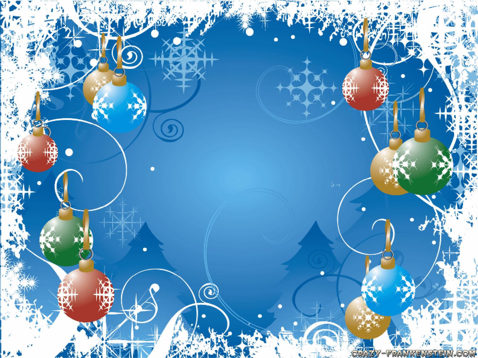Wallpaper de bolas de navidad