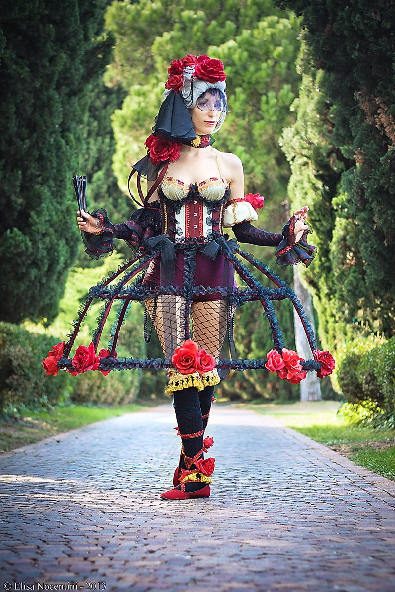 cosplay d'alice des roses