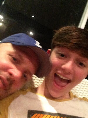 Greyson Chance with Louis Schoor in Bali Smile 2013