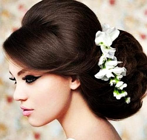 Modela tu cabello peinados de novias 2013 2014 for Imagenes semirecogidos