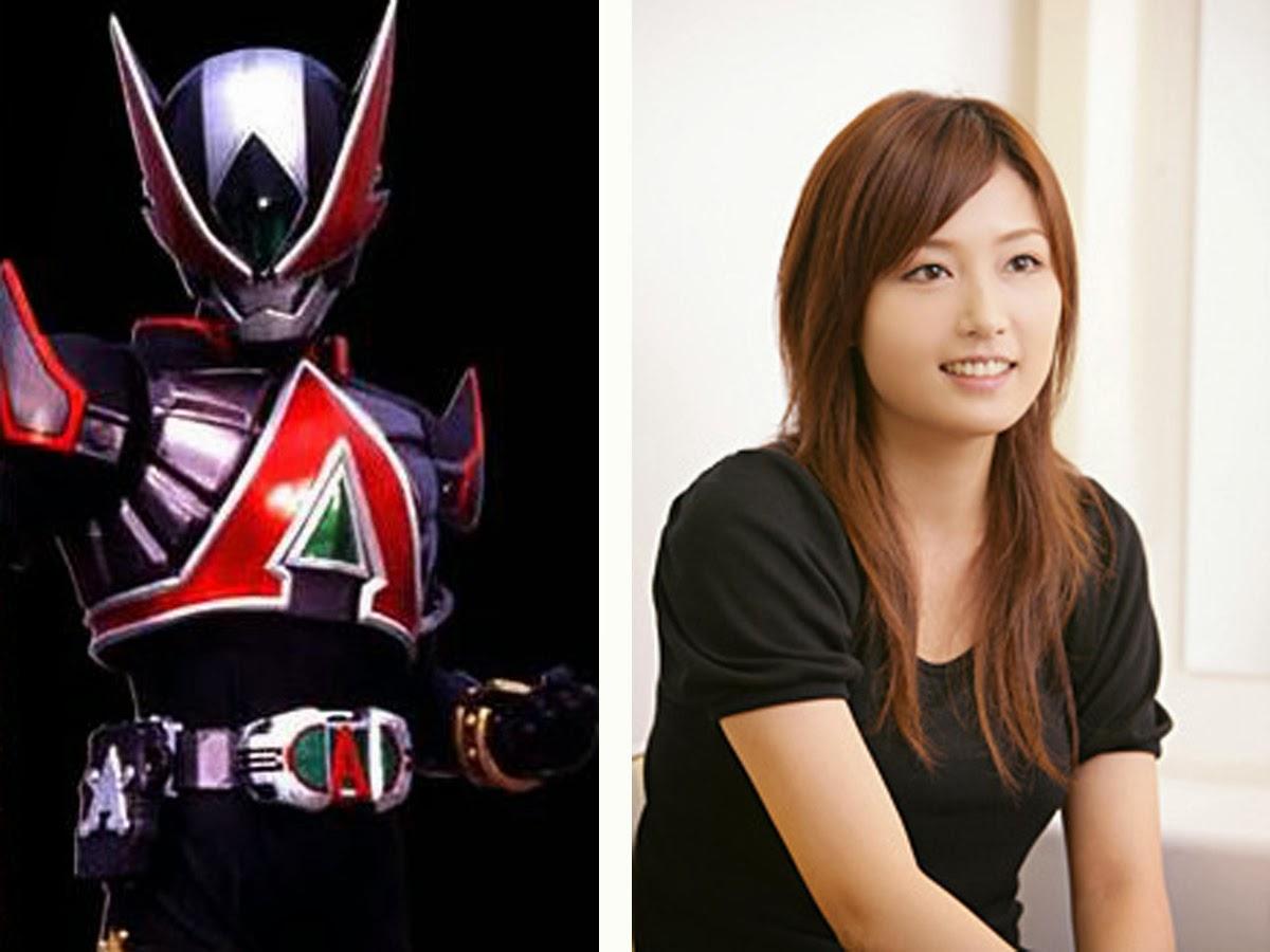 Foto Yoko Mitsuya pemeran Kamen Rider Larc
