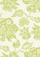 Floral Wallpaper T4106 Lime Green
