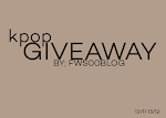 kpop giveaway by fa