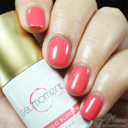 GelMoment Flamingo Blossom Swatch