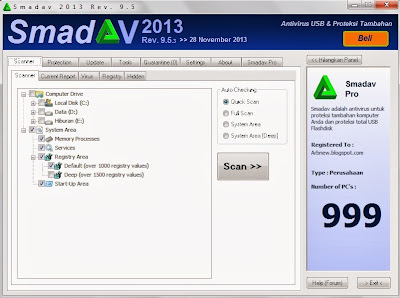 Download Smadav Pro 9.5.3+ Serial Key Terbaru Full