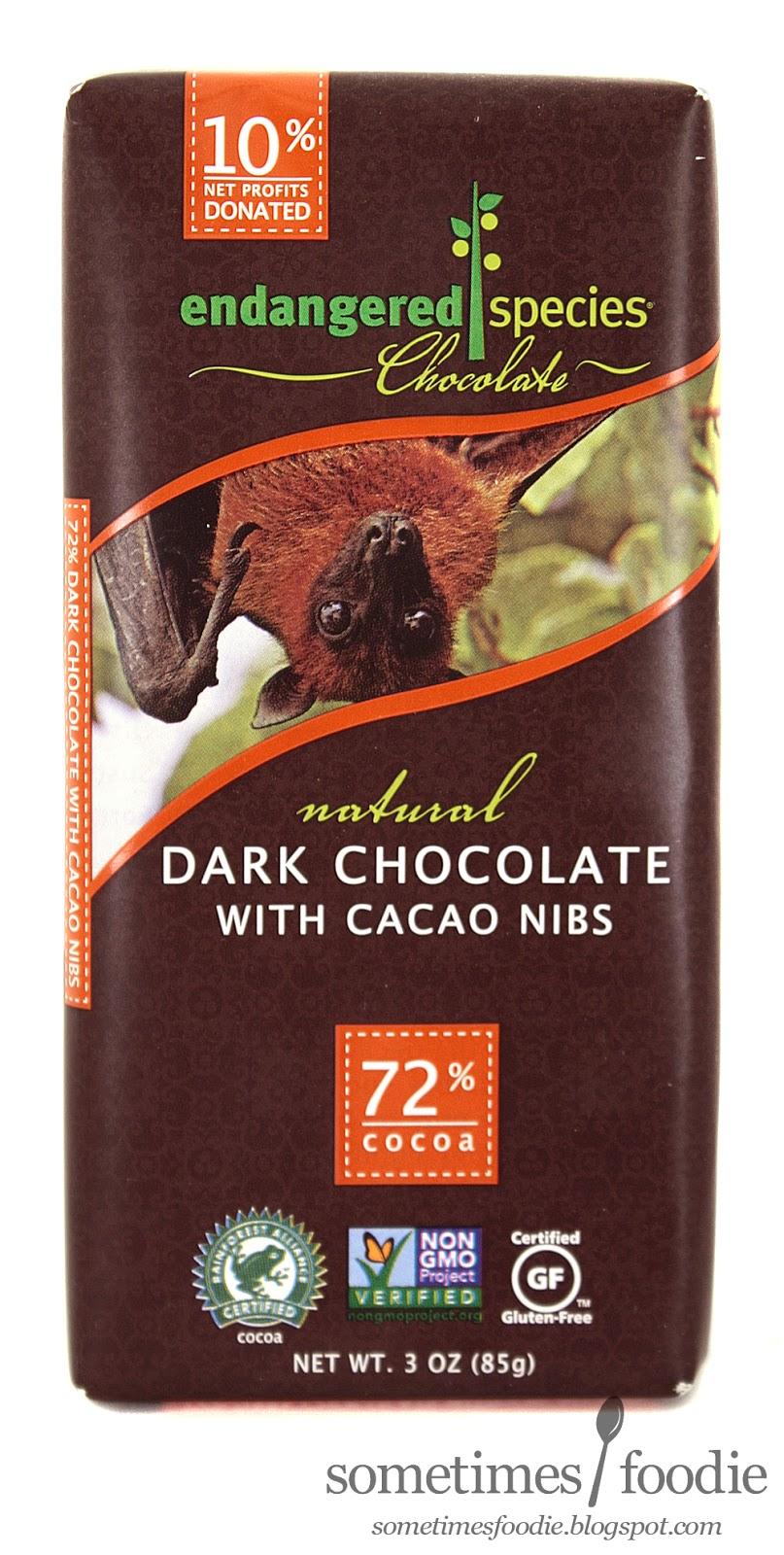 Sometimes Foodie: Endangered Species Chocolate - Dark Chocolate w ...