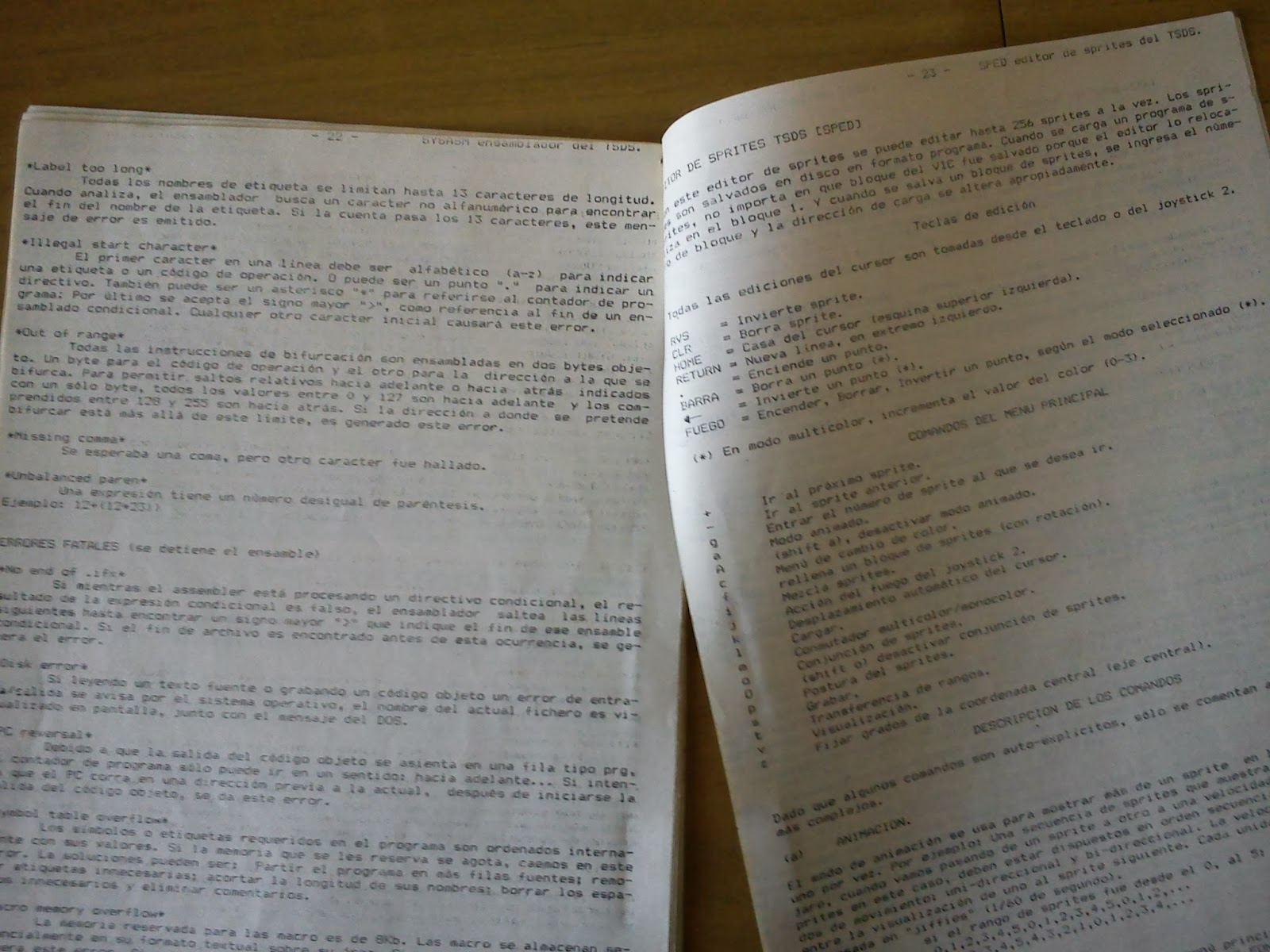 Manual TSDS en castellano