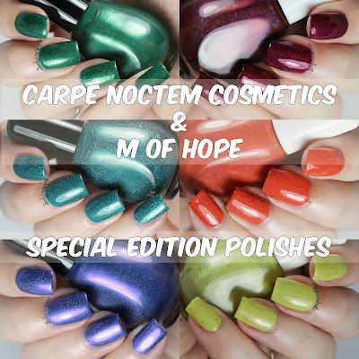 Carpe Noctem Cosmetics & M of Hope