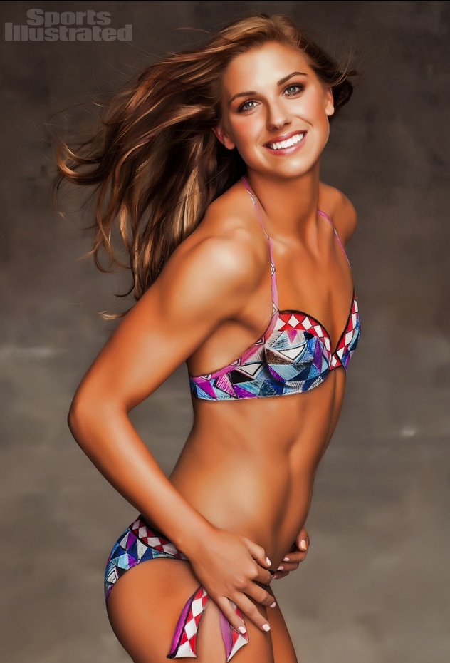 Alex Morgan Bodypaint