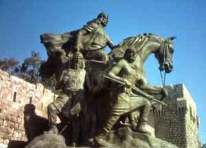 patung Sultan Salahuddin al-Ayyubi