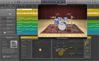 Apple Logic Pro X image from Bobby Owsinski's Big Picture Blog