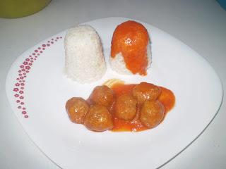 AlbÓndigas En Tomate