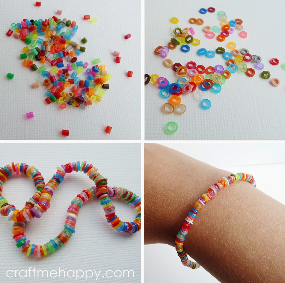 bracelets the mama craft paper perler kid bracelet bead