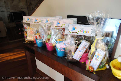 Easter Egg Hunt Favors