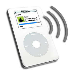 An iPod for podcasts
