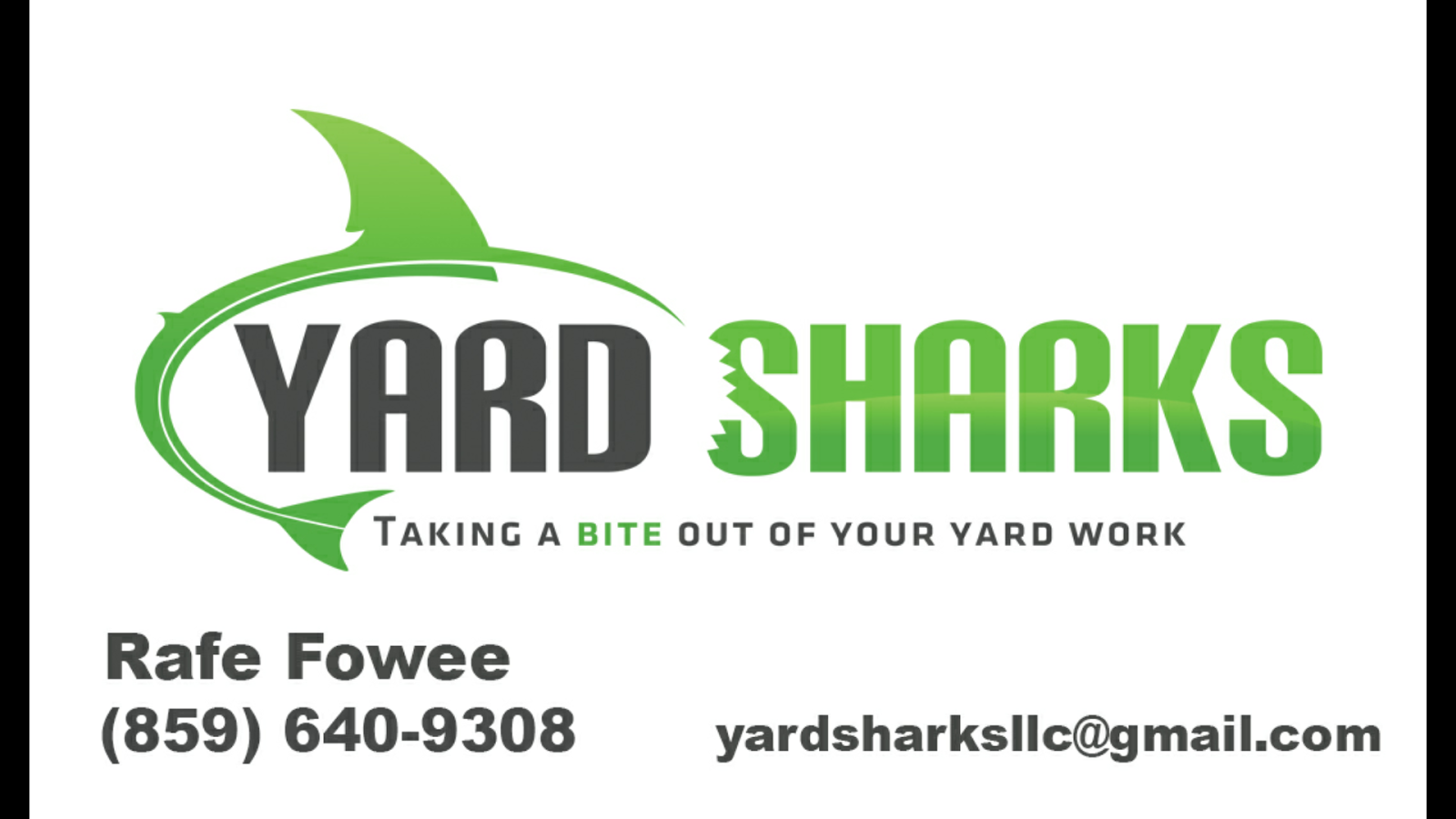Lawn Sharks Yard Care