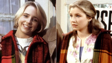 oh yeah there was that annoying thing with becky being played by two different actresses for the first four seasons of the show becky was played by