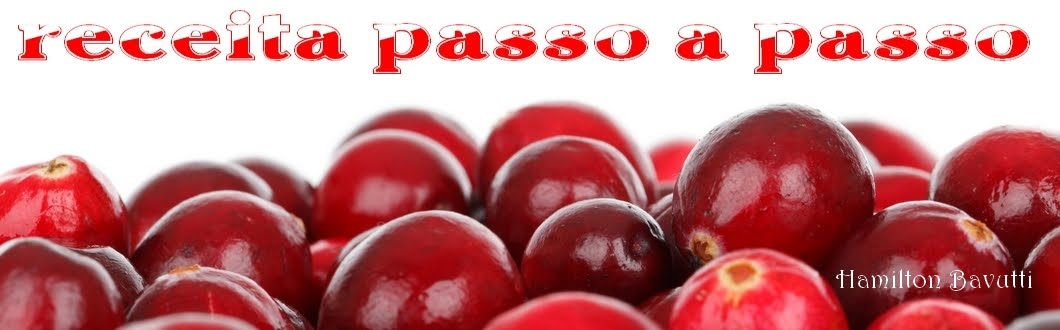 Receita passo a passo