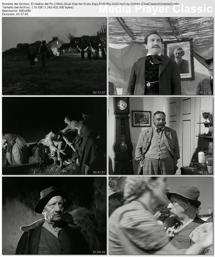 secuencias: El molino del Po | 1949 | Il mulino del Po | Cine Clásico