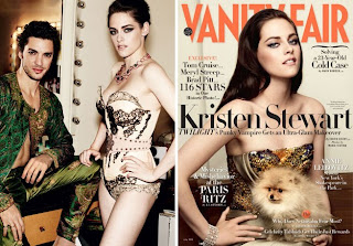 Kristen Stewart Vanity Fair magazine, Kristen Stewart Fashion Shoot