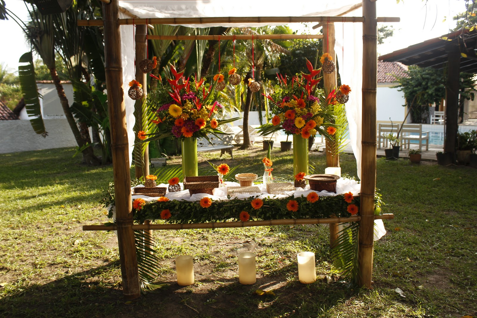 decoracao festa luau: : Sweets e Dreams 15 years: Começando Novamente + Festa Havaiana