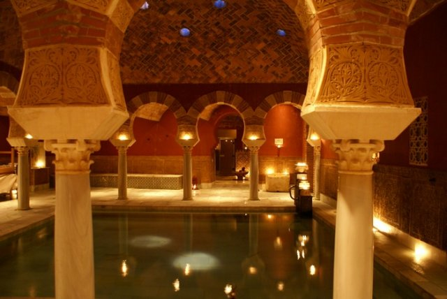 Baño Arabe Hammam Granada:Hammam Baths Granada