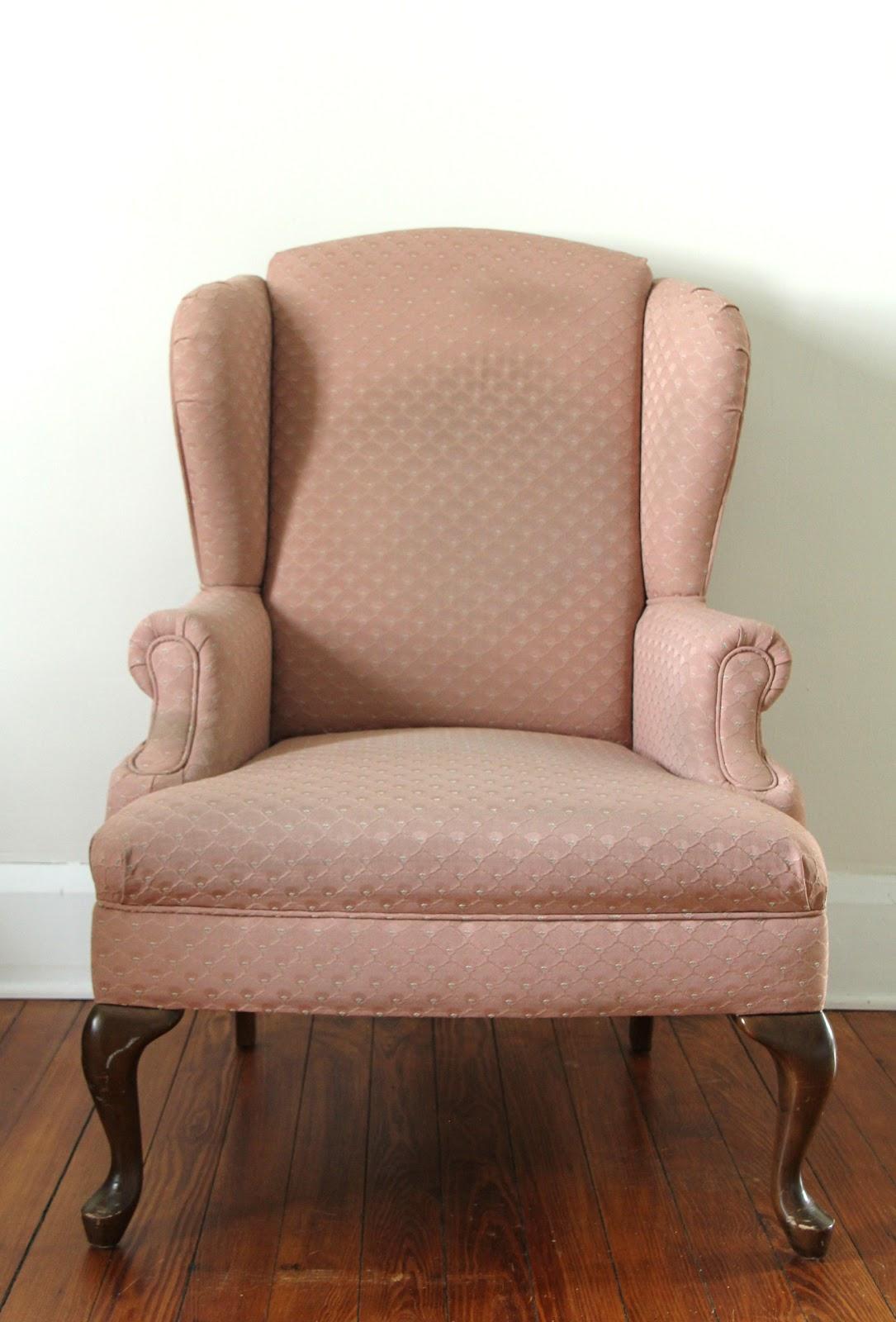 lovely little life upholstered wingback chair project
