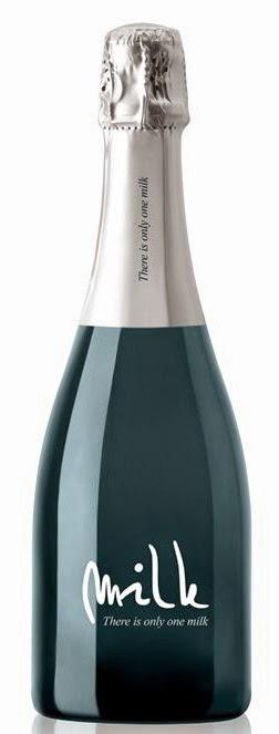 latte vino bottiglia design packaging grafica etichette impaginazione champagne bianco