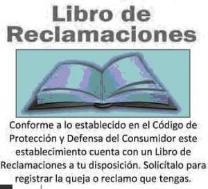 . LIBRO DE RECLAMACIONES