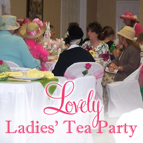 Lovely Ladies' High Tea Party Ideas | Belly Feathers :: Handmade