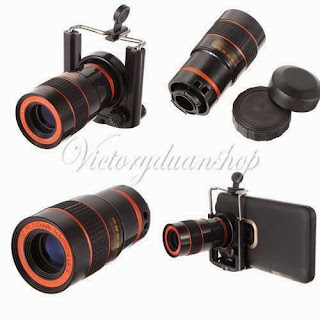 Universal Mini 8x Zoom Optical Lens Mobile Telescope For Camera Mobile Phone 2rd
