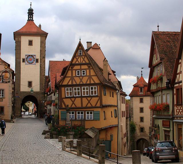 sitios curiosos rothenburg ob der tauber alemania