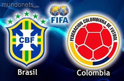 Perkiraan Hasil Akhir Laga Fase 16 Besar Piala Dunia 05 Juli 2014, Brasil vs Kolombia