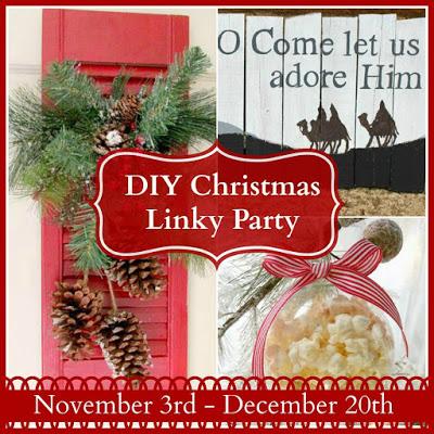DIY Christmas Linky Party