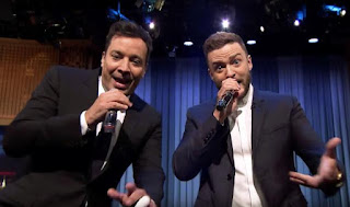 Justin Timberlake, Jimmy Fallon perform 'History of Rap 6' on 'Tonight Show,'