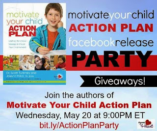 Motivate Your Child Action Plan Facebook party