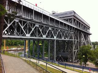 Schiffsverkehr: Die Reparaturarbeiten am Schiffshebewerk Niederfinow (Barnim) sind abgeschlossen., aus Focus