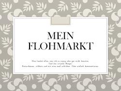 Mein Flohmarkt!