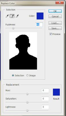3x Mengganti warna latar pada pas foto