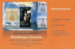 Handicap e società. La presentazione del libro di Giovanni Vagnarelli