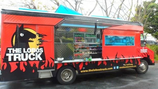 Tony Dragon Food Truck Menu