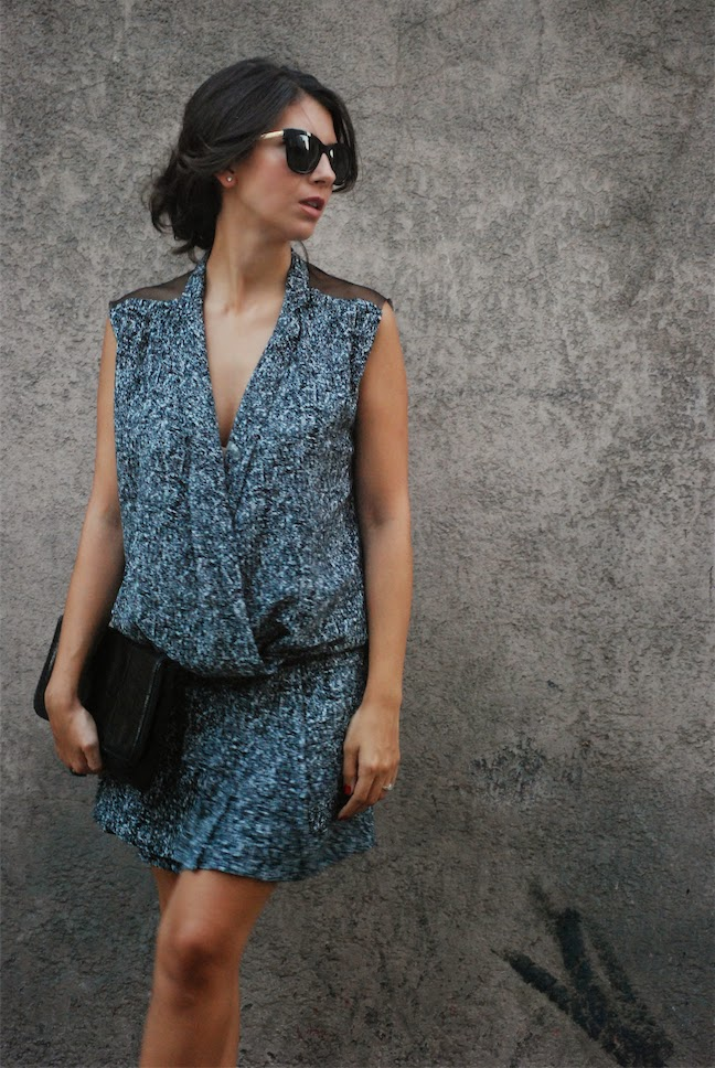 sandro,sandro dress,street style,blogger style, effortless chic,bcbg max azria,fashion blogger