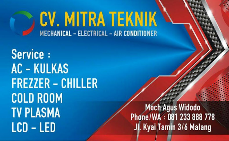 SERVICE AC MALANG CV. MITRA TEKNIK 0812 3388 8778