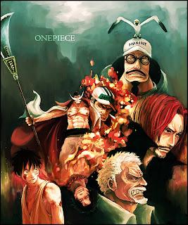 One Piece Marine Ford War Luffy Ace Garp Ace Akainu Sengoku Whitebeard Anime HD Wallpaper Desktop Background