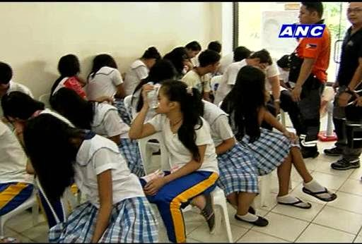 Antipolo students and teachers hit by pepper spray