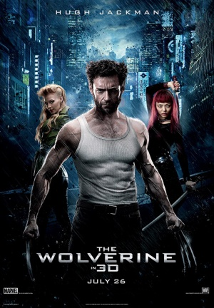 The Wolverine (2013) movie poster