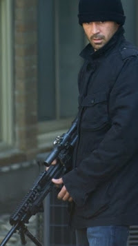 Actor Colin Farrell turns sniper for Dead Man Down an upcoming crime thriller movie set to hit theaters in 2013.