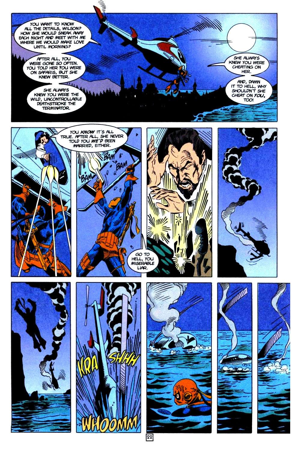 Deathstroke (1991) Issue #32 #37 - English 23